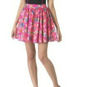 Tracy Feith Floral Skirt